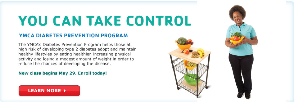 Register today for the YMCA Diabetes Prevention Program