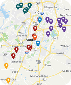 Google Map of Afterschool Locations