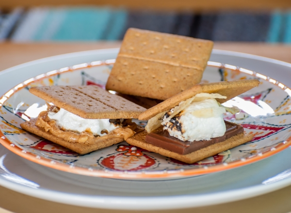 Get the recipes for yummy s'mores made three ways!
