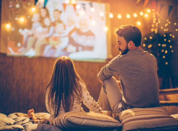 Check out easy tips for setting up a backyard movie night