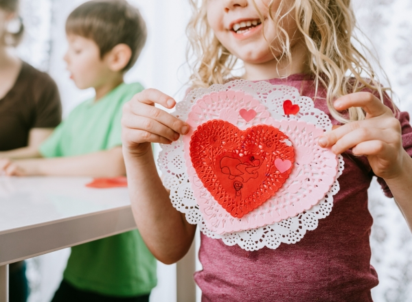 Check out a few talking points to keep Valentine's Day conversation positive and fun with your child this February.