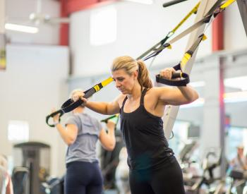 TRX resistance training