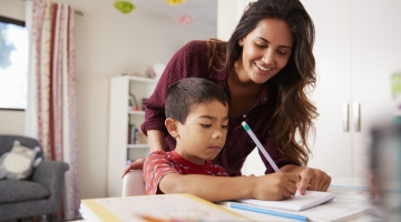 Learn easy ways to set up a productive homework space for your child